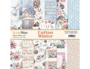 ScrapBoys Cotton Winter 12x12 Inch Paper Set (COWI-08)