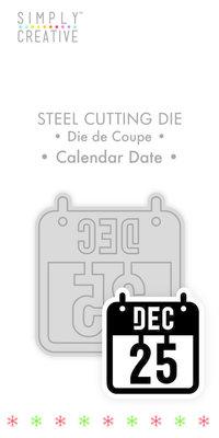 Simply Creative Calender Date Die (SCDIE129X19) OP=OP!