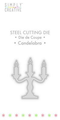 Simply Creative Candelabra Die (SCDIE126X19) OP=OP!