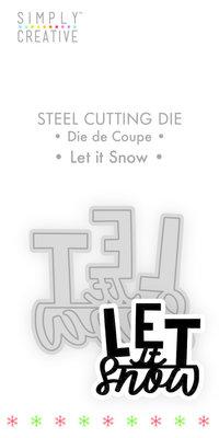 Simply Creative Let it Snow Die (SCDIE124X19) OP=OP!