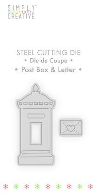 Simply Creative Post Box & Letter Die (SCDIE122X19) OP=OP!