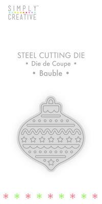 Simply Creative Bauble Die (SCDIE121X19) OP=OP!