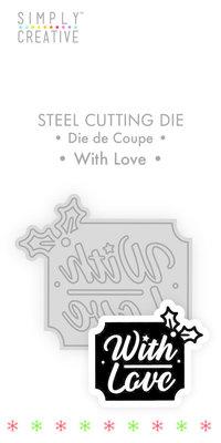 Simply Creative With Love Die (SCDIE117X19) OP=OP!