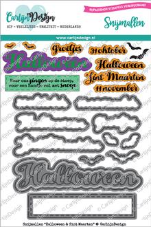CarlijnDesign Snijmal Halloween & Sint Maarten (CDSN-0024)