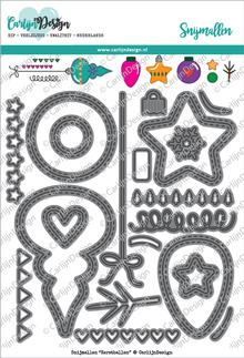 CarlijnDesign Snijmal Kerstballen (CDSN-0028)