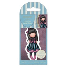 Gorjuss Collectable Mini Rubber Stamp No.75 The Frock (GOR 907340)