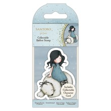 Gorjuss Collectable Mini Rubber Stamp No.78 Winter Friend (GOR 907343)