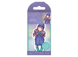 Gorjuss Collectable Mini Rubber Stamp No.80 Northern Lights (GOR 907345)
