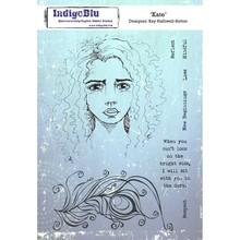 IndigoBlu Kate A5 Rubber Stamp (IND0564)