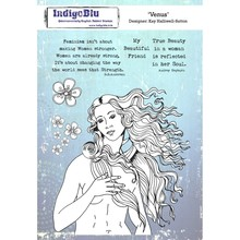 IndigoBlu Venus A5 Rubber Stamp (IND0568)