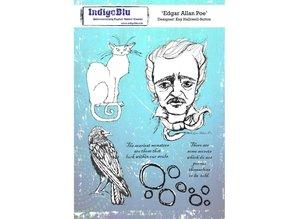 IndigoBlu Edgar Allan Poe A5 Rubber Stamp (IND0562)