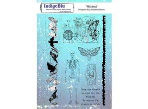 IndigoBlu Wicked A5 Rubber Stamp (IND0563)
