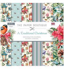 The Paper Boutique A Traditional Christmas 8x8 Inch Paper Pad (PB1258)
