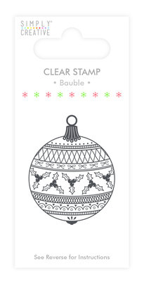 Simply Creative Bauble Clear Stamp (SCSTP015X19)