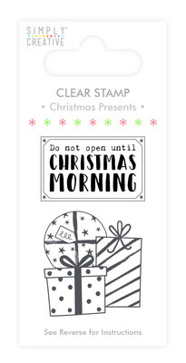 Simply Creative Christmas Present Clear Stamps (SCSTP019X19)