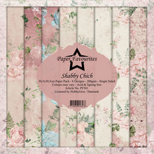 Paper Favourites Shabby Chich 12x12 Inch Paper Pack (PF301)