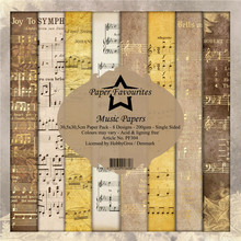 Paper Favourites Music Papers 12x12 Inch Paper Pack (PF304)