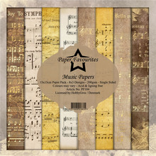 Paper Favourites Music Papers 6x6 Inch Paper Pack (PF104)