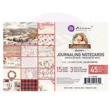 Prima Marketing Inc Christmas In The Country 4x6 Inch Journaling Cards (995324)