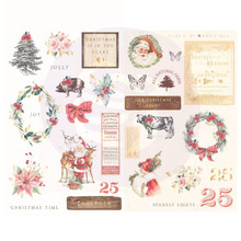Prima Marketing Inc Christmas In The Country 5x8 Inch Chipboard (995331)