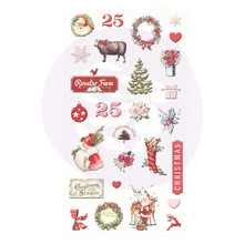 Prima Marketing Inc Christmas In The Country Puffy Stickers (995362)