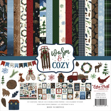 Echo Park Warm & Cozy 12x12 Inch Collection Kit (WC194016)