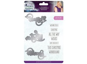 Crafter's Companion Enchanted Christmas Winter Wonderland Stamp & Die (S-EC-MDS-WINWO)