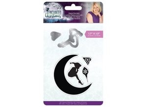 Crafter's Companion Enchanted Christmas Magical Moonlight Stamp & Die (S-EC-MDS-MAGW)