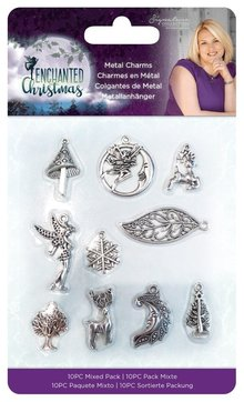 Crafter's Companion Enchanted Christmas Metal Charms (S-EC-CHAR)
