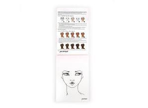 Jane Davenport Making Faces I Came, I Saw, I Contoured Face Charts (JDM-036)