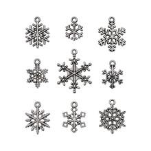 Idea-ology Tim Holtz Adornments Snowflakes (9pcs) (TH94007)