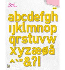 Nellie Snellen Shape Die Alphabet Large (SD176)