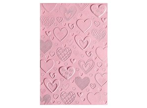 Sizzix 3D Textured Impressions Hearts (663628)