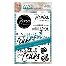 COOSA Crafts #1 Leuks Clear Stamps  (COC-020)