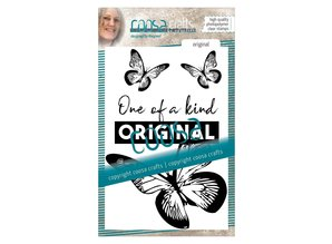 COOSA Crafts #2 Quote Be Original Clear Stamps  (COC-024)