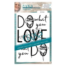 COOSA Crafts #2 Quote Do Love Clear Stamps  (COC-025)