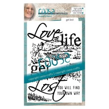 COOSA Crafts #2 Quote Get Lost Clear Stamps (COC-026)