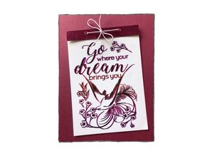 COOSA Crafts #3 Birds Go Dream Clear Stamps (COC-029)