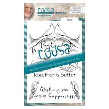 COOSA Crafts #3 Birds Twice Clear Stamps (COC-031)