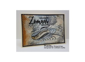COOSA Crafts #3 Birds Lots Of Love Clear Stamps (COC-032)