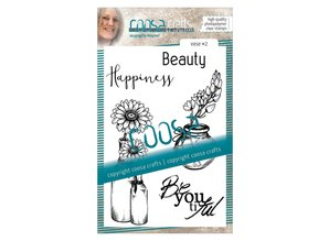 COOSA Crafts #7 Vaas 2 Clear Stamps (COC-042)