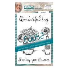COOSA Crafts #7 Vaas 3 Clear Stamps (COC-043)