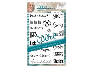 COOSA Crafts #12 Mixed Voor Jou Clear Stamps (COC-073)