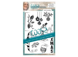 COOSA Crafts #17 Xmas Envelop Clear Stamps (COC-076)