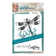 COOSA Crafts #8 Fusion Flying Key Clear Stamps (COC-053)
