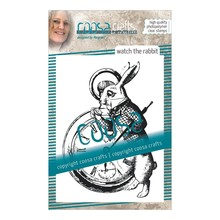 COOSA Crafts #8 Fusion Watch The Rabbit Clear Stamps (COC-054)