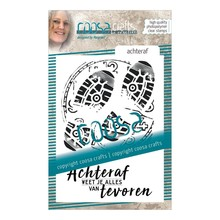 COOSA Crafts #8 Achteraf Clear Stamps (COC-056)