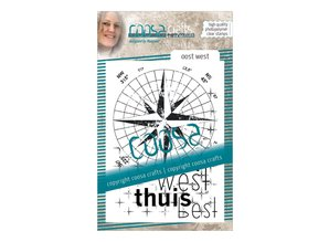 COOSA Crafts #8 Oost-West Clear Stamps (COC-057)