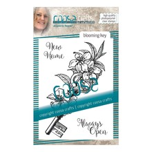 COOSA Crafts #9 Fusion Blooming Key Clear Stamps (COC-060)
