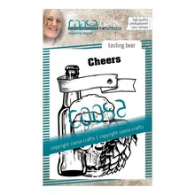 COOSA Crafts #9 Fusion Tasting Beer Clear Stamps (COC-062)